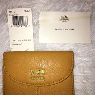 COACH MADISON CARD CASE