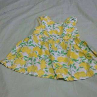Gingersnaps Yellow Floral Dress