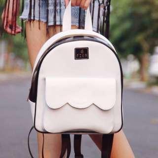 Classic White Backpack