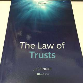 Trust Law Core Text Series (9th Ed)