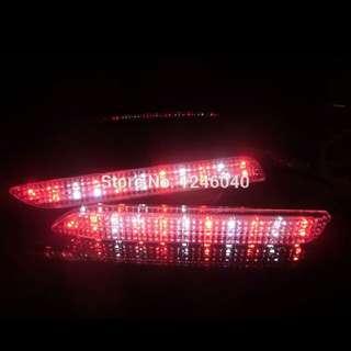 Toyota wish rear bumper Crystal 3 in 1 led light!!!