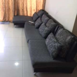 2nd hand fabric sofa