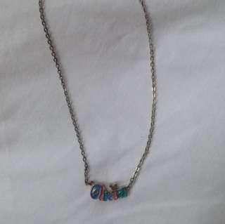 Disneyland necklace