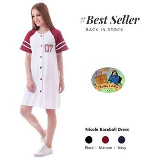 Nicole Baseball Dress