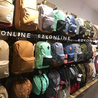 Authentic Herschel Backpacks and Wallets