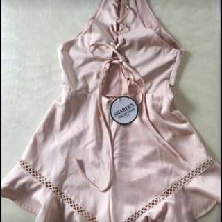 Shareen Playsuit BNWT size 8