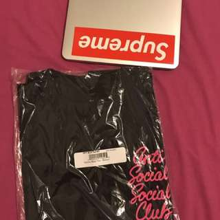 BRAND NEW ASSC Option Black Tee