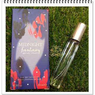 Original purse perfume/Britney spears midnight fantasy 20ml