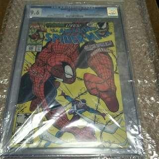 marvel comics Cgc graded 9.6 amazing spider-man #345