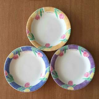 Givenchy Tulips Tea Plates In Set