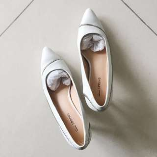 Brand New Call It Spring White Pumps