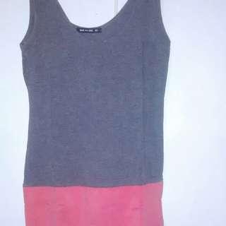 Body&Soul Mini Dress Two Tone