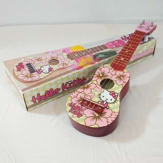 BNIB Authentic Hello Kitty Ukelele