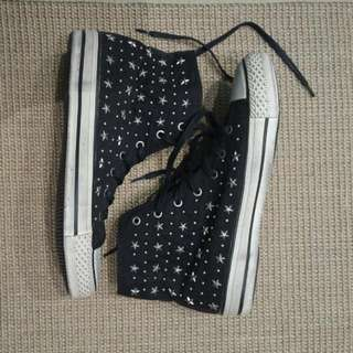 Pull & Bear Star Studded Sneaker