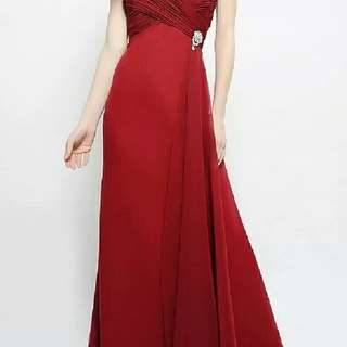 禮服Red Evening dress ( S Size)