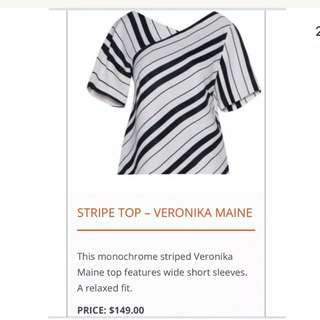 Veronica Maine Stripy Top