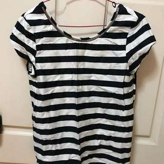 Zara striped top