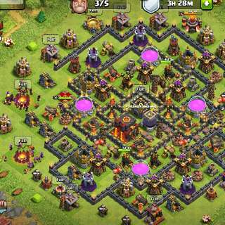 COC acc TH 10 Max for sale