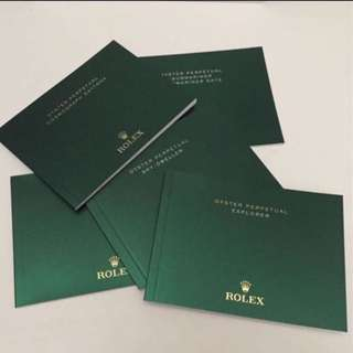 Rolex Manuals Booklets Latest