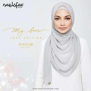 ⬛Authentic Naelofar Hijab : My ♥ Collection◼