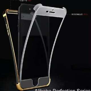 360 Brilliance Shockproof Case slim 2 in 1 for iphone 5, 5s, 6, 6s, 6 plus, 7, 7s, 7 plus
