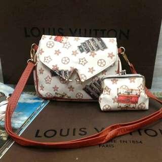 2 & 1 LV Sling Bags