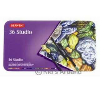 專業繪畫用 Studio 36色木顏色