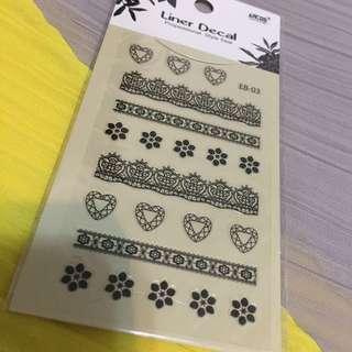 💅🏻1秒上手🇰🇷韓國美甲貼紙 nail sticker 5
