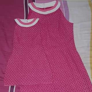 Mother Daughter Matching Dress -Halter neck