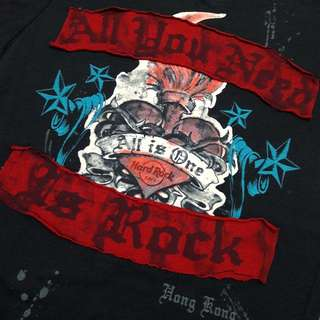 Hard Rock Black Tshirt