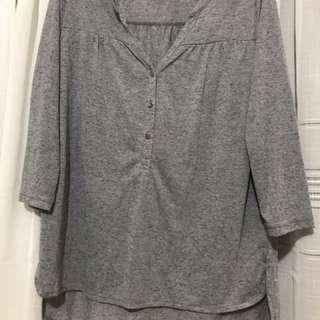 H&m grey top