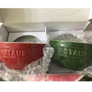 平賣⭐️⭐️法國品牌。staub 碗  全新  有盒 有保護包裝🎁