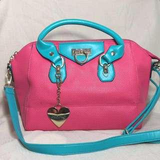 *REPRICED* XOXO Pink & Blue Bag