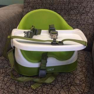 Mama & papas bud baby booster with detachable tray