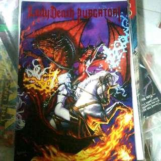 Lady Death Vs Purgatori Chaos Comics 1999