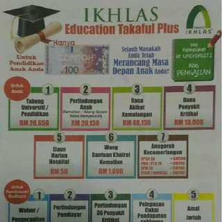 Ikhlas education takaful plus