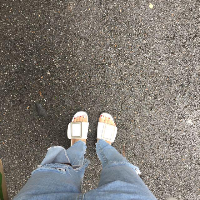 (含運)大方扣韓拖鞋