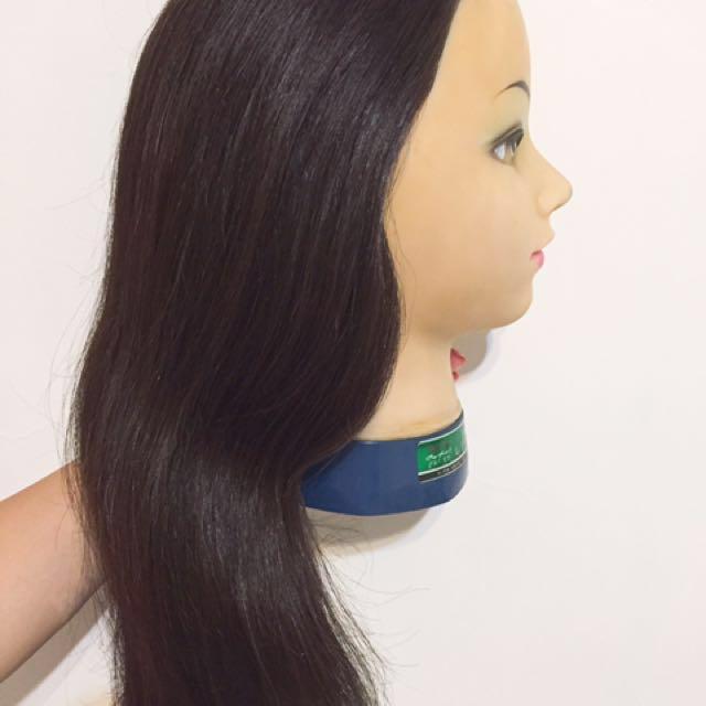 美髮假人頭貴妃臉。乙丙級標準頭