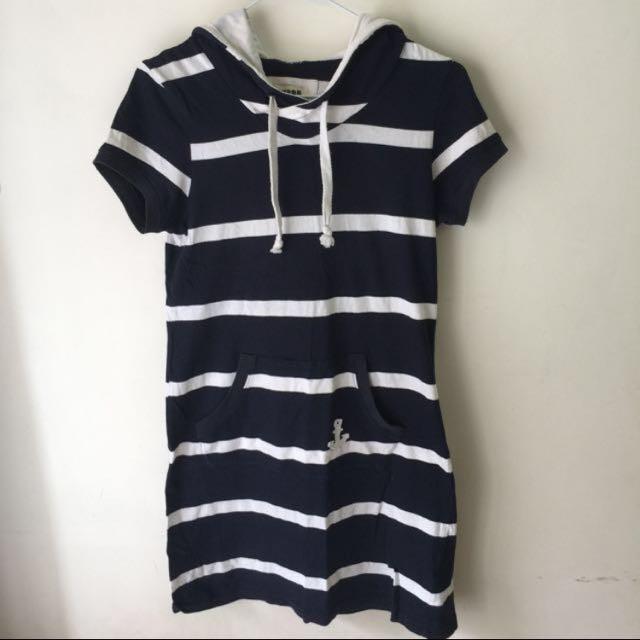 海軍風休閒洋裝