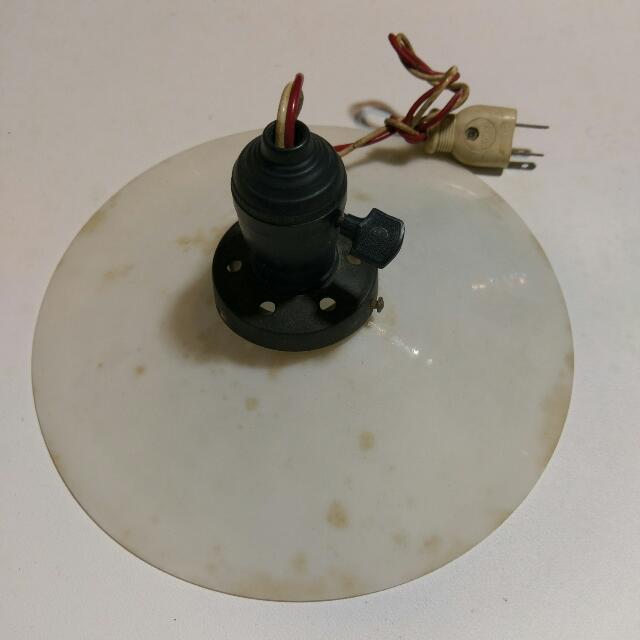 老電笠盤燈