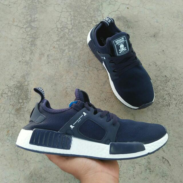 new arrival 9ca62 afeb9 ADIDAS NMD XR1 MASTERMIND NAVY BLUE, GRED 5A