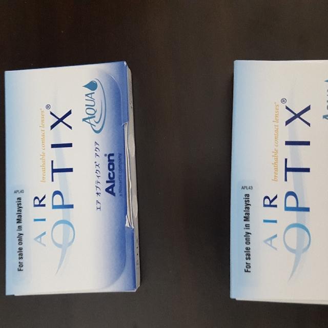 AIR OPTIX contact lenses