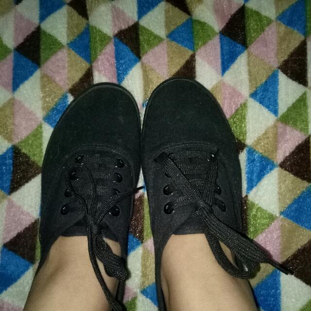 All Black Gumsole Shoes
