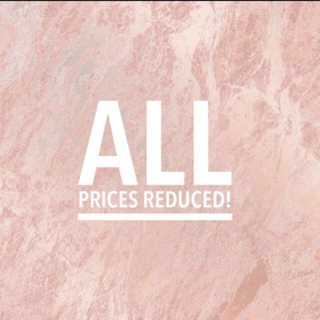 ALL PRICES REDUCED