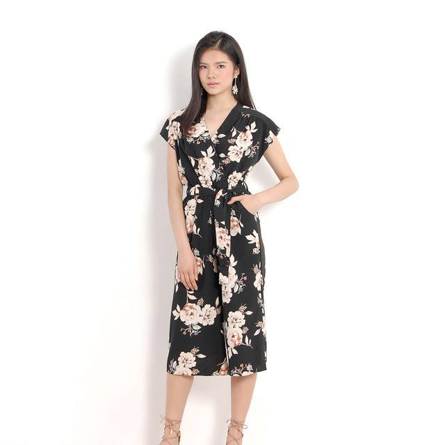 2f098fcdf6bf Angie Floral Jumpsuit
