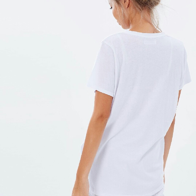 ASSEMBLY LABEL Everyday Linen White Tee Size 12 BNWT
