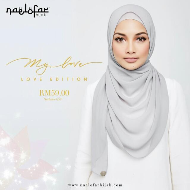 ⬛Authentic Naelofar Hijab : My ♥ Collection◼