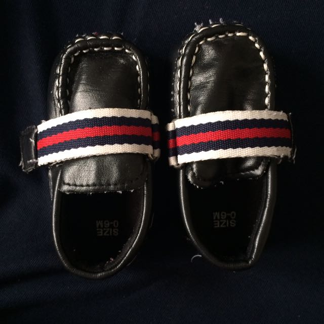 Baby Gucci Black Shoes