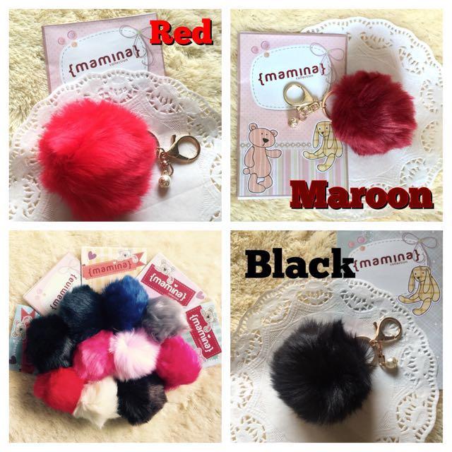 Bag Charm Fur