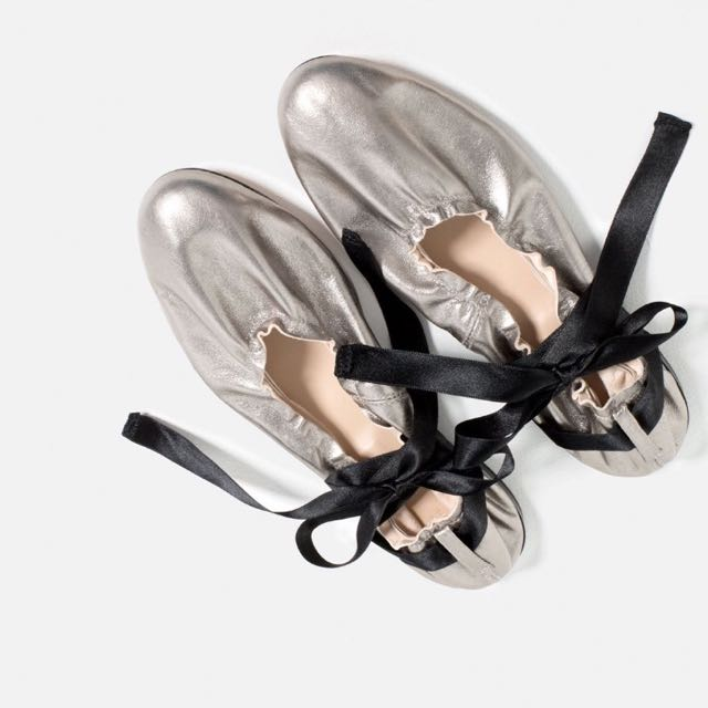 Balerina shoes Zara